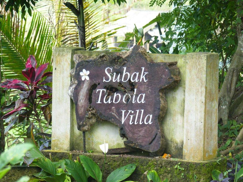 Sidemen, Subak Tabola hotel | Rama Tours