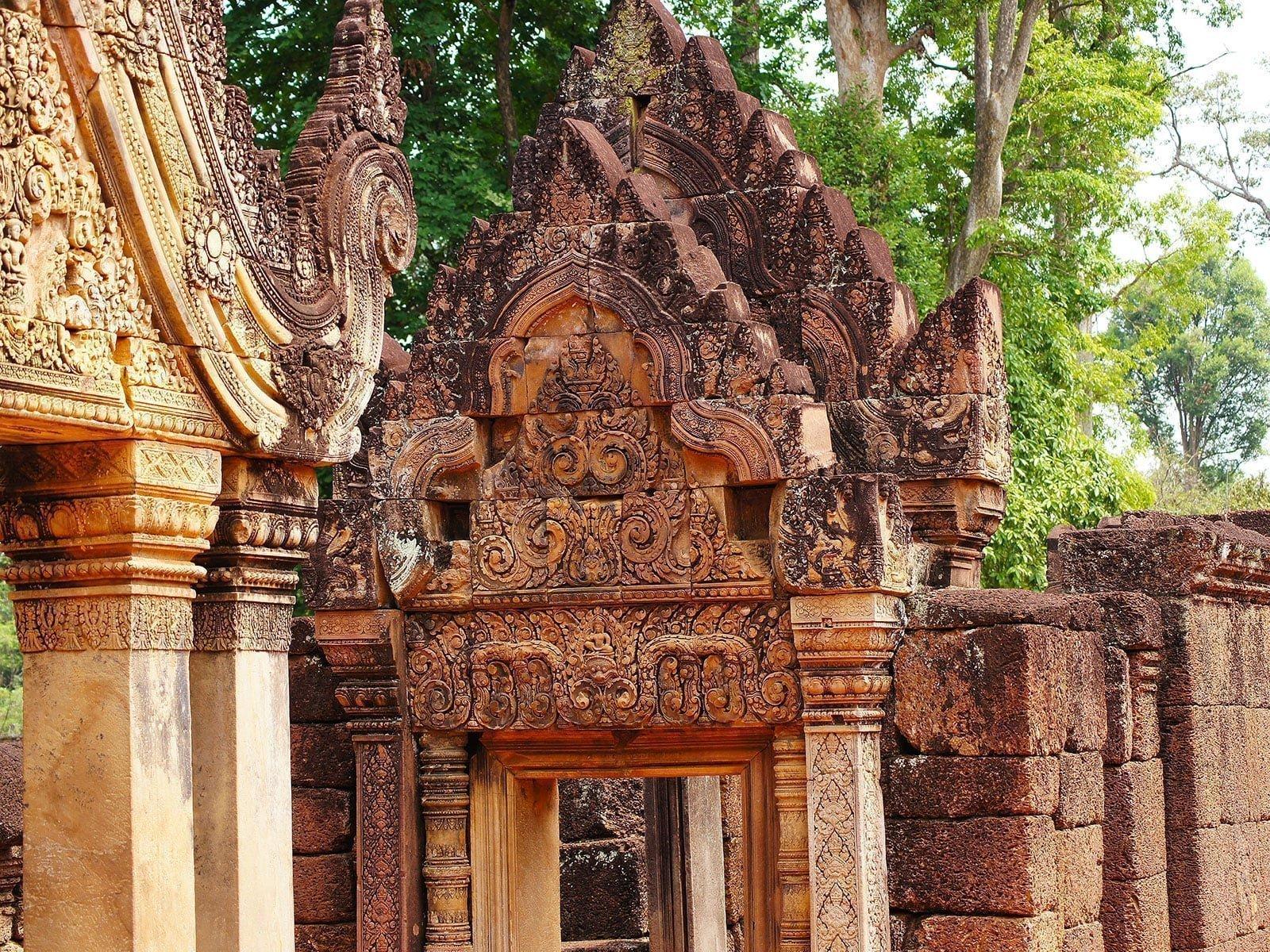 rondreis cambodja siem reap hoogtepunt bantai srei 3