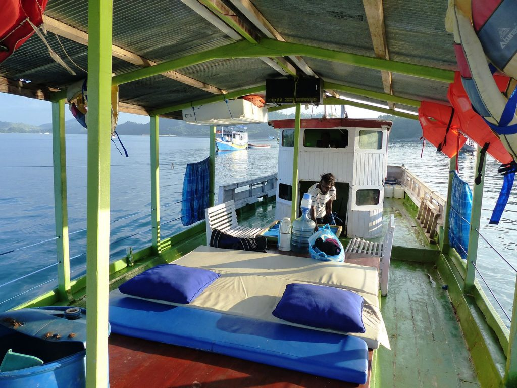Flores, Komodo, omgebouwde vissersboot | Rama Tours