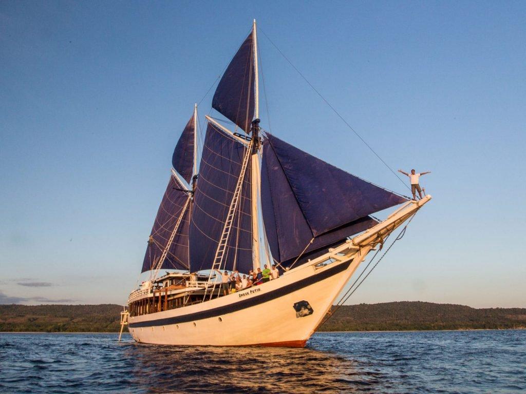 Exclusieve zeilschepen, Ombak Putih | Rama Tours