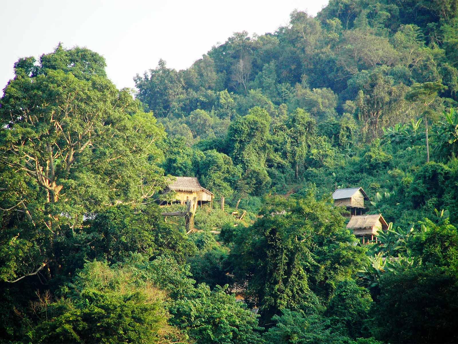 rondreis laos boottocht mekong rivier hoogtepunt 5
