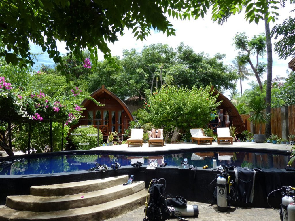 Gili Air, Manta Dive hotel | Rama Tours