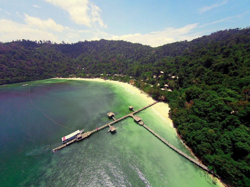Gaya Island, Bunga Raya resort | Rama Tours