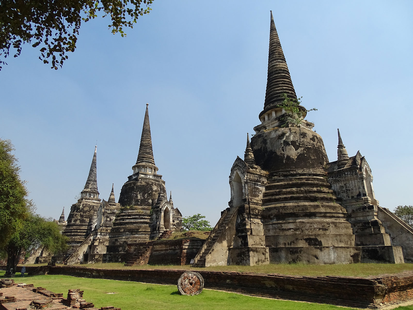 rondreis thailand ayutthaya wat phra sanphet 3