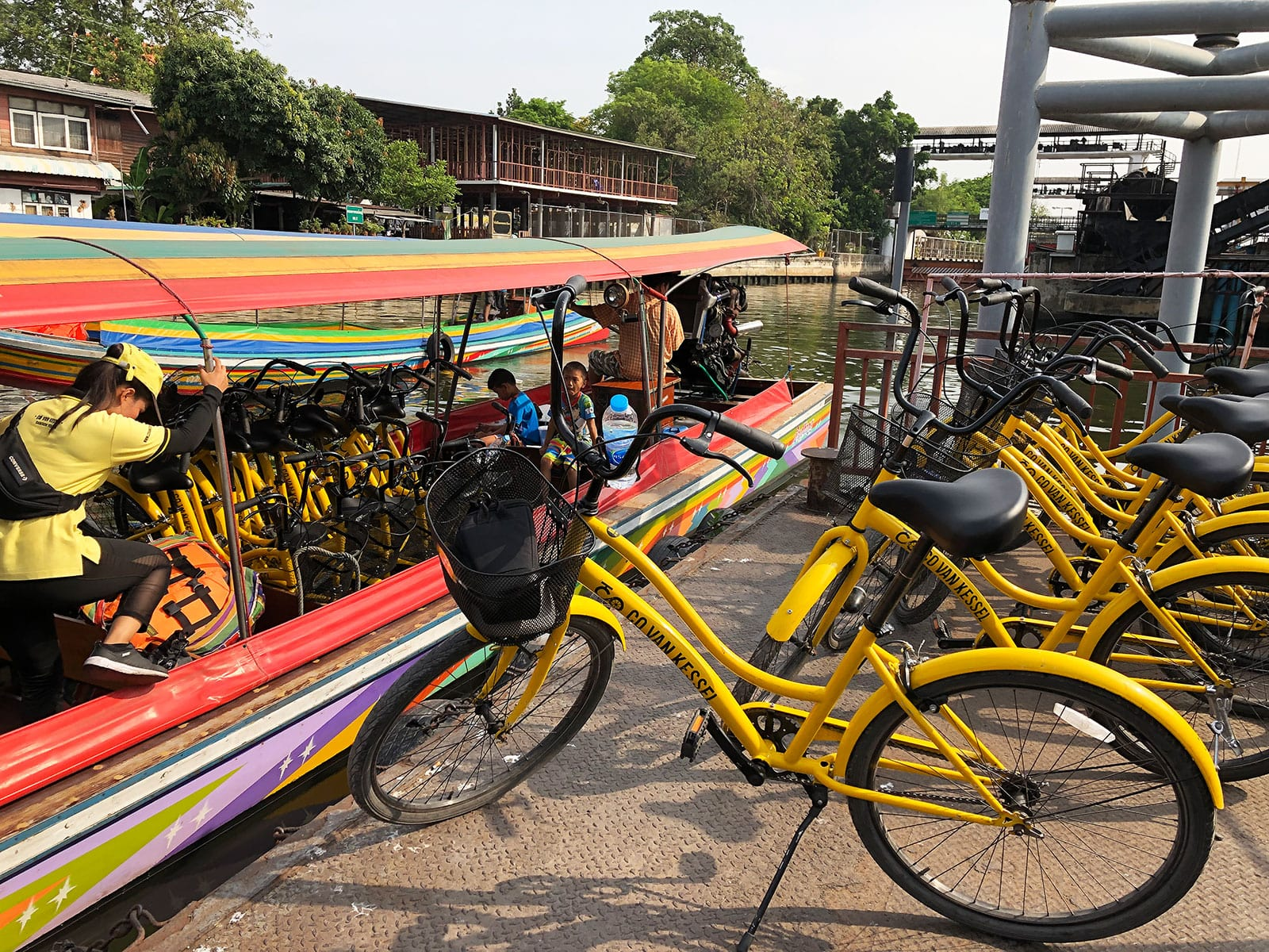 rondreis thailand bangkok hoogtepunt 11 fietsen