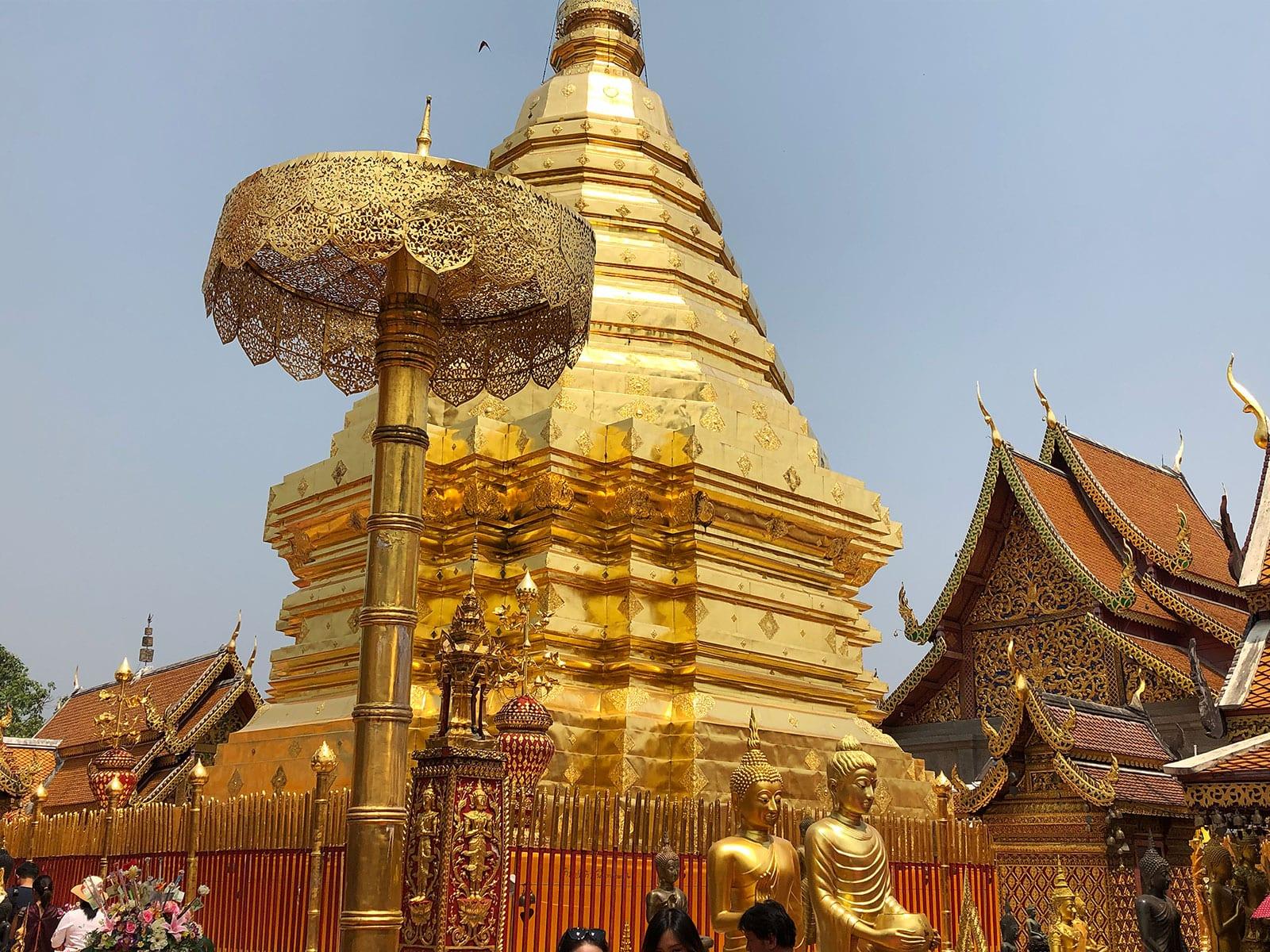 rondreis thailand chiang mai hoogtepunt doi suthep 6