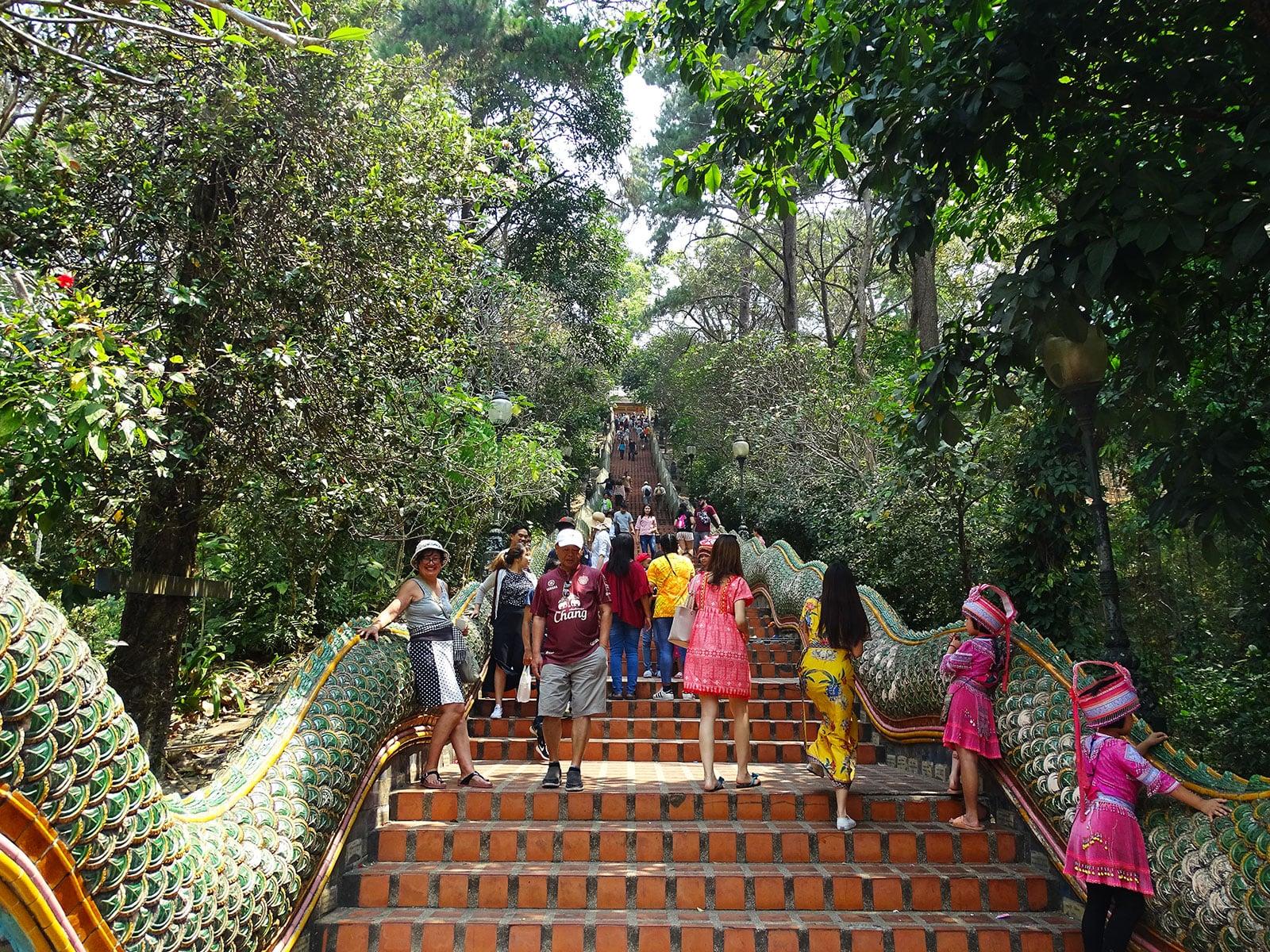 rondreis thailand chiang mai hoogtepunt doi suthep 7