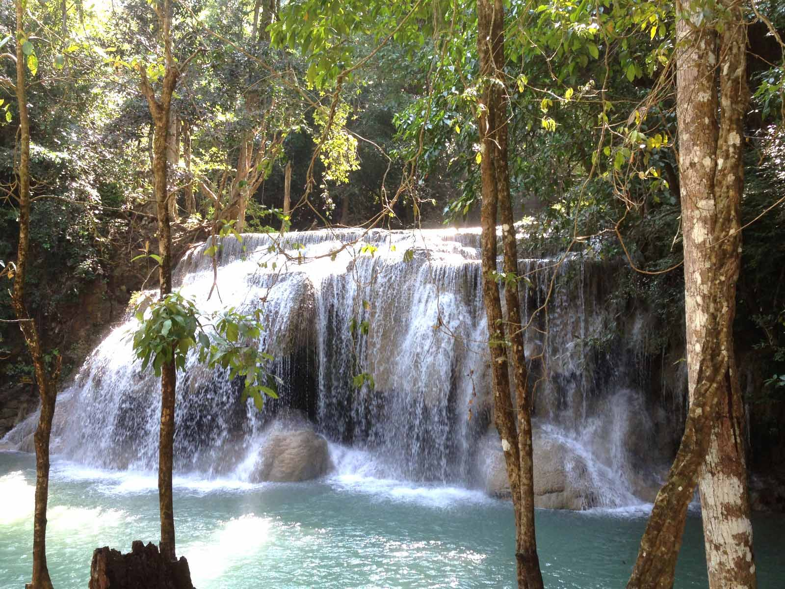 rondreis thailand erawan national park 1