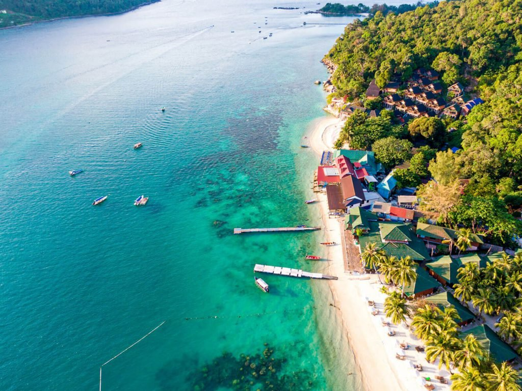 Perhentian Besar, Tuna Bay resort   Rama Tours