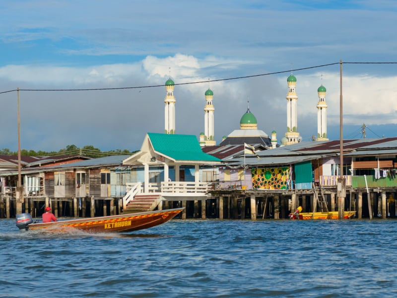 Maleisisch waterdorp Kampong Ayer | Rama Tours