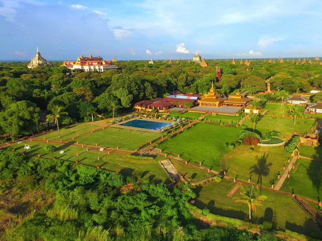 Bagan, Bagan Thiripyitsaya Sanctuary resort | Rama Tours