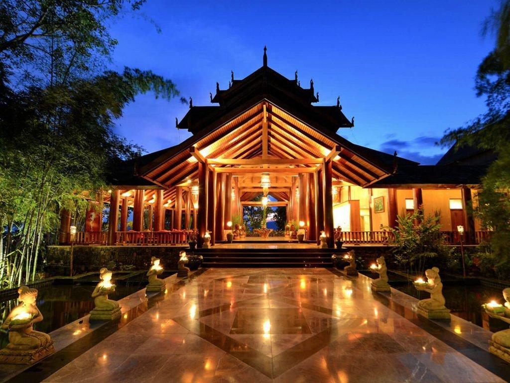 Inle meer, Aureum Palace resort | Rama Tours
