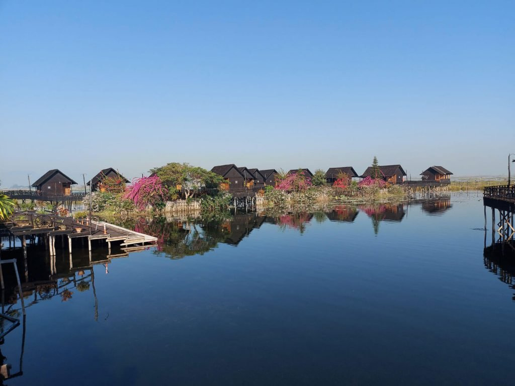 Inle meer, Golden Island Cottages 1 (Nampan) | Rama Tours