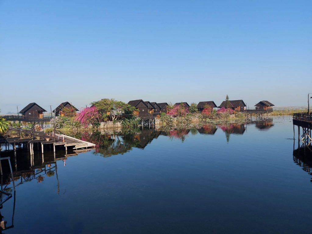 Inle meer, Golden Island Cottages 1 (Nampan) | Rama Tours