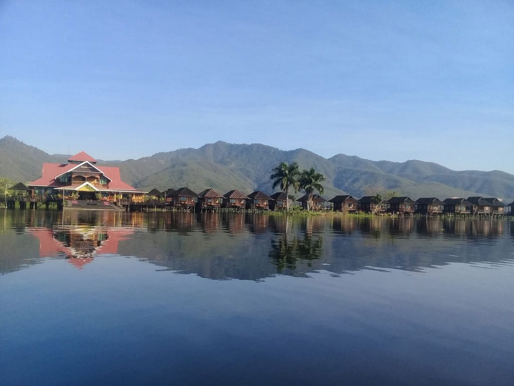 Inle meer, Golden Island Cottages 2 (Thale U) | Rama Tours