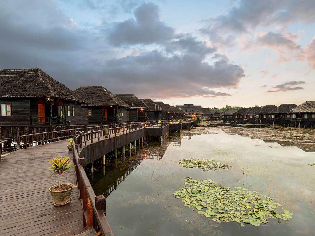 Inle meer, Myanmar Treasure resort | Rama Tours
