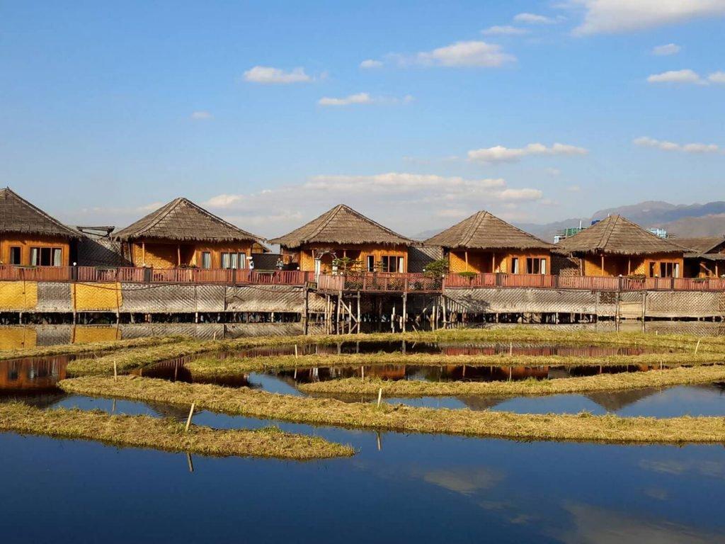 Inle meer, Paradise Inle resort | Rama Tours