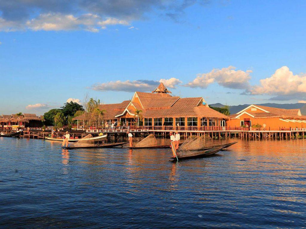 Inle meer, Paramount Inle resort | Rama Tours