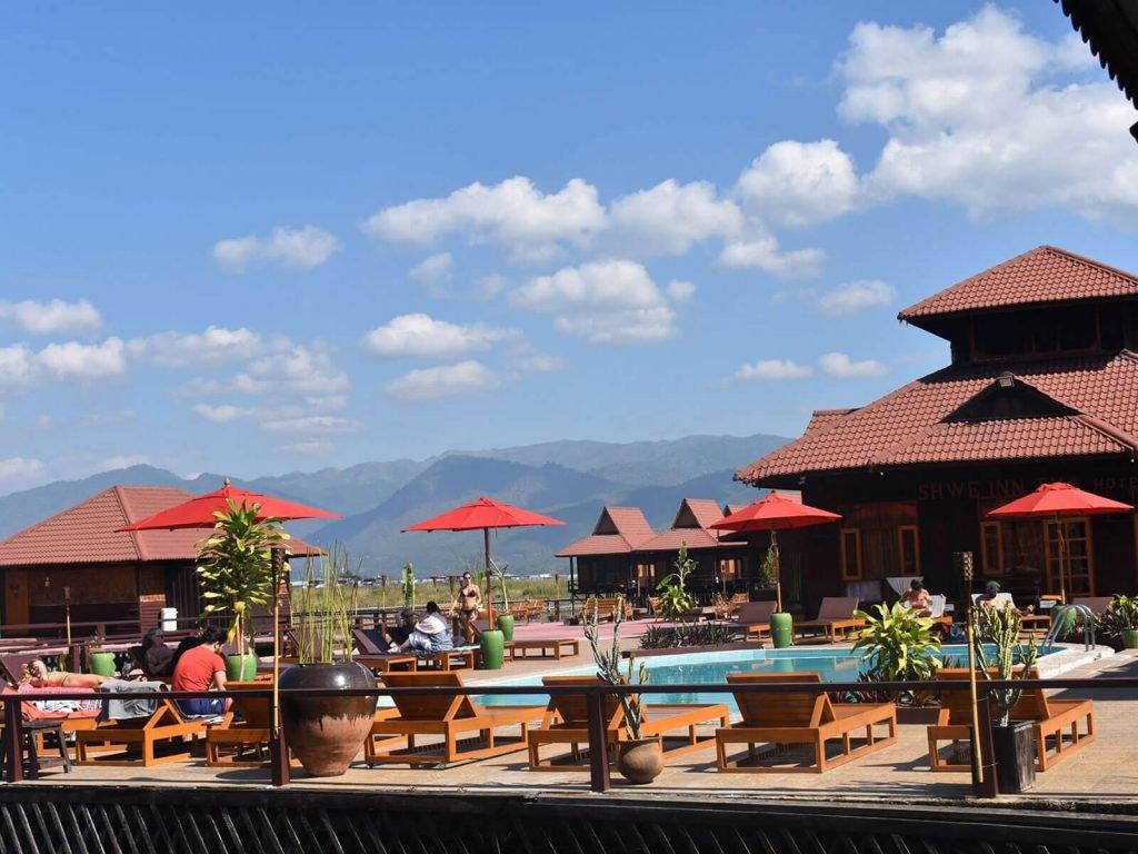 Inle meer, Shwe Inn Tha Floating resort | Rama Tours