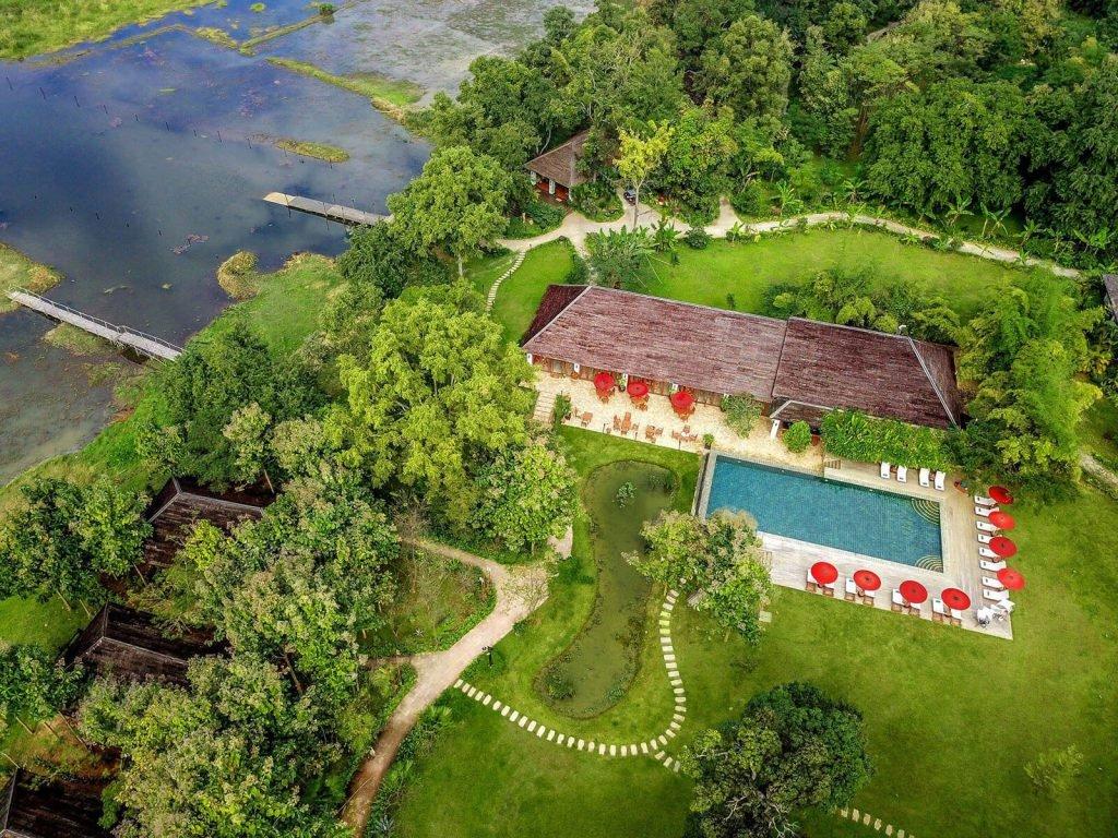 Inle meer, Villa Inle | Rama Tours