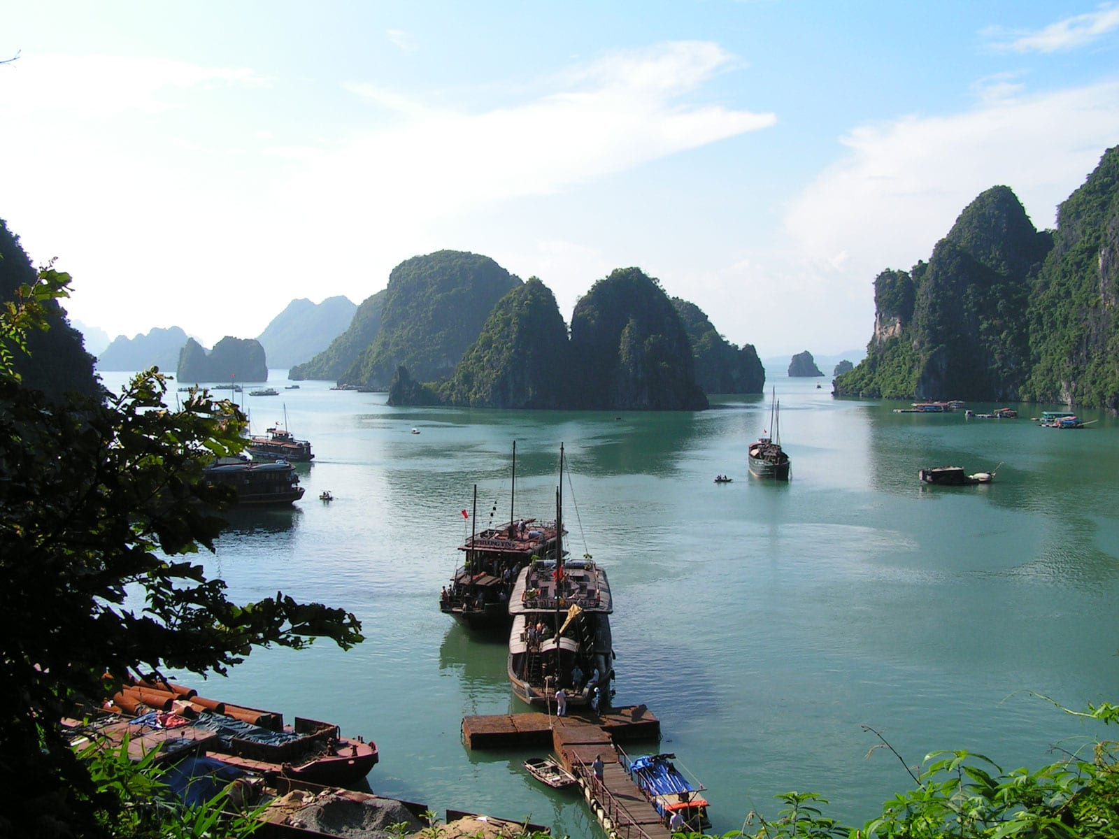 rondreis vietnam halong bay 1