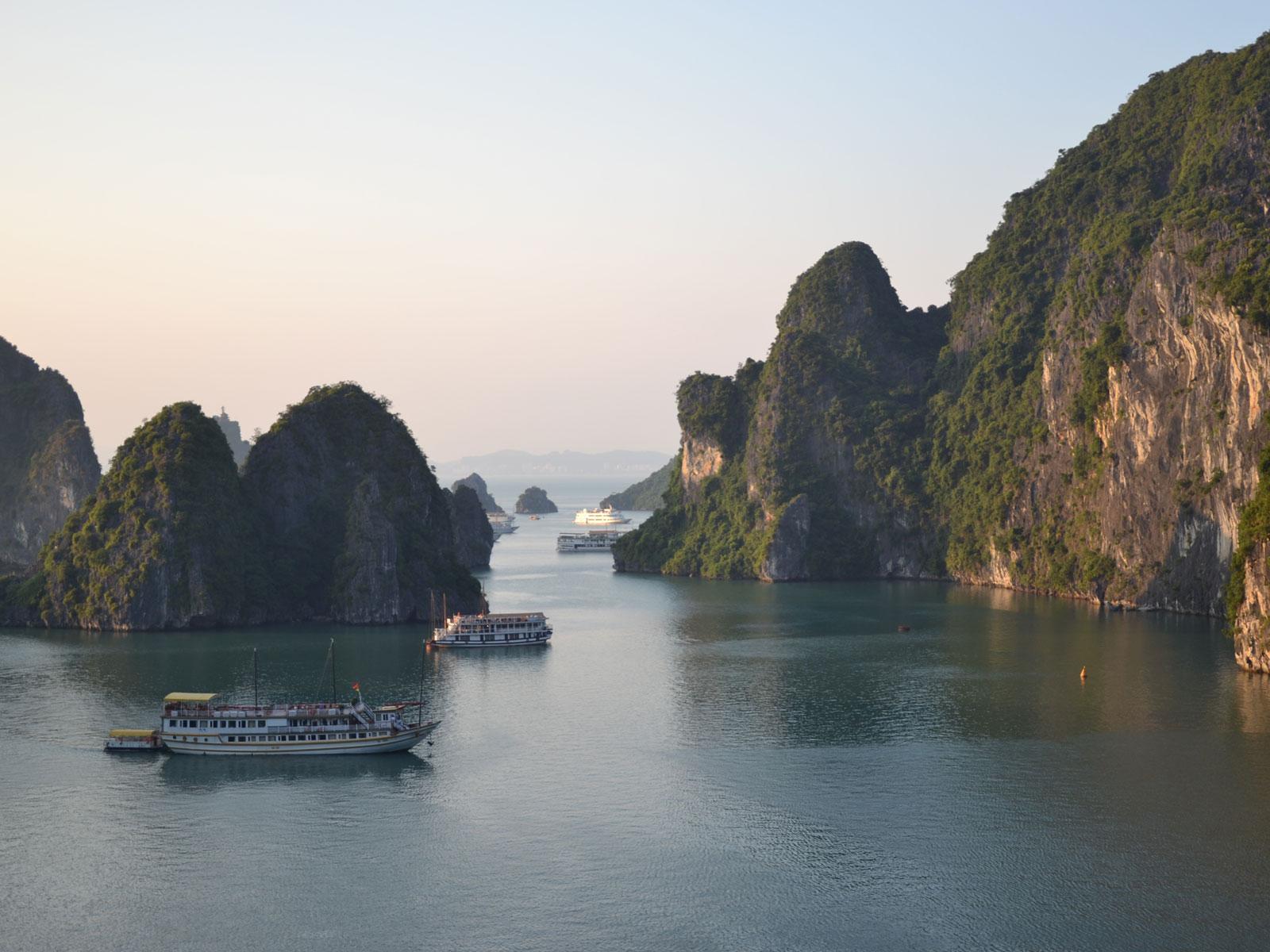 rondreis vietnam halong bay 13