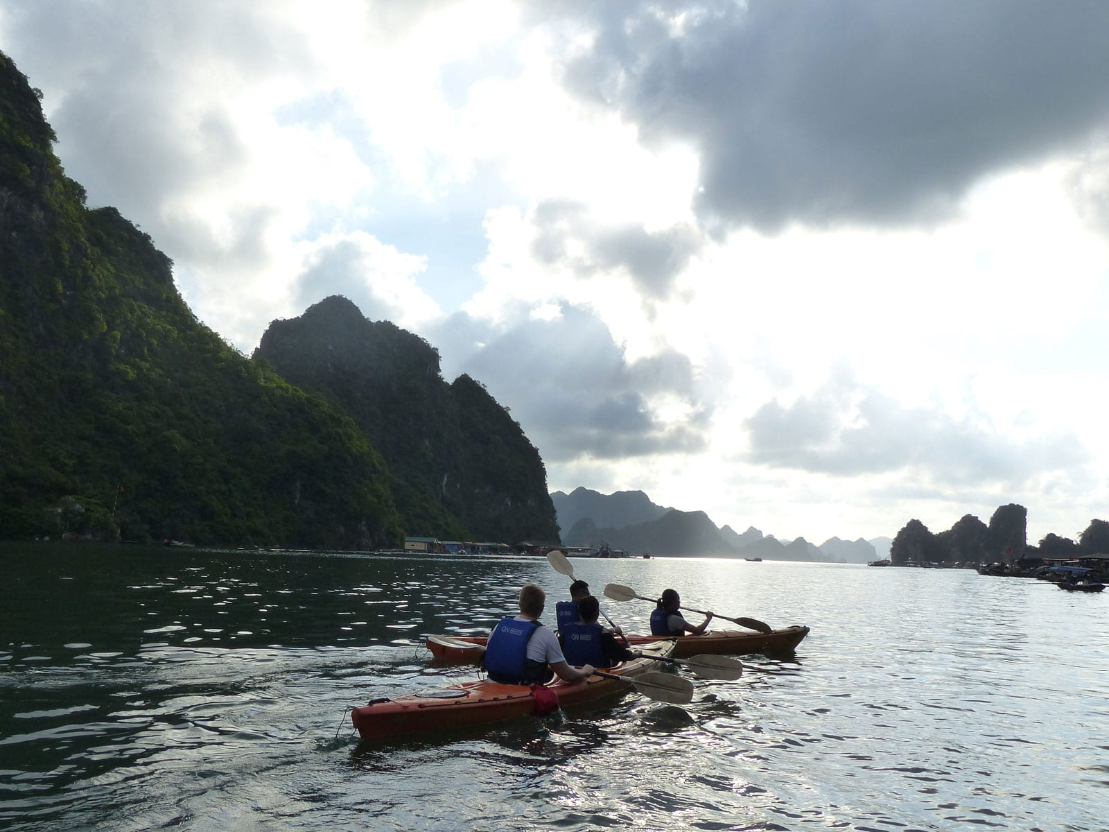 rondreis vietnam halong bay 9