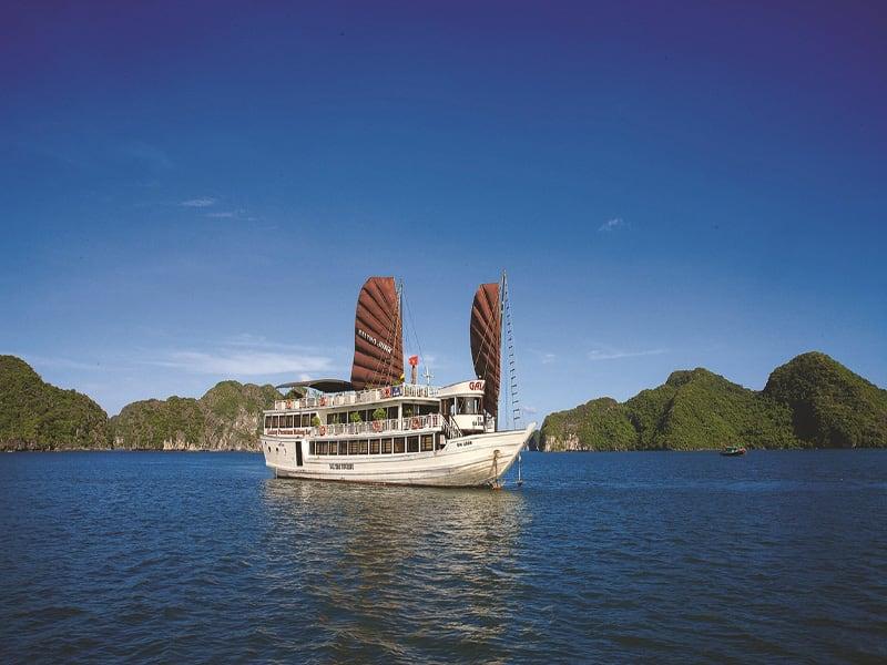 Halong Bay, Galaxy Premium Junk | Rama Tours