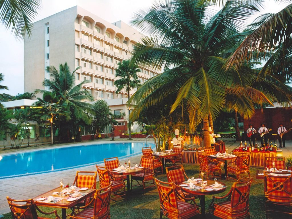 Mysore, Southern Star hotel (voorheen The Regaalis) | Rama Tours