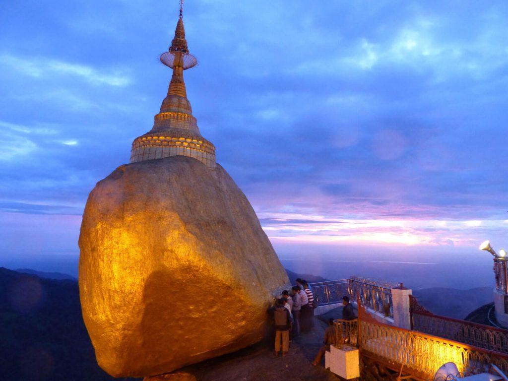 De Gouden Rots (Kyaiktiyo) | Rama Tours