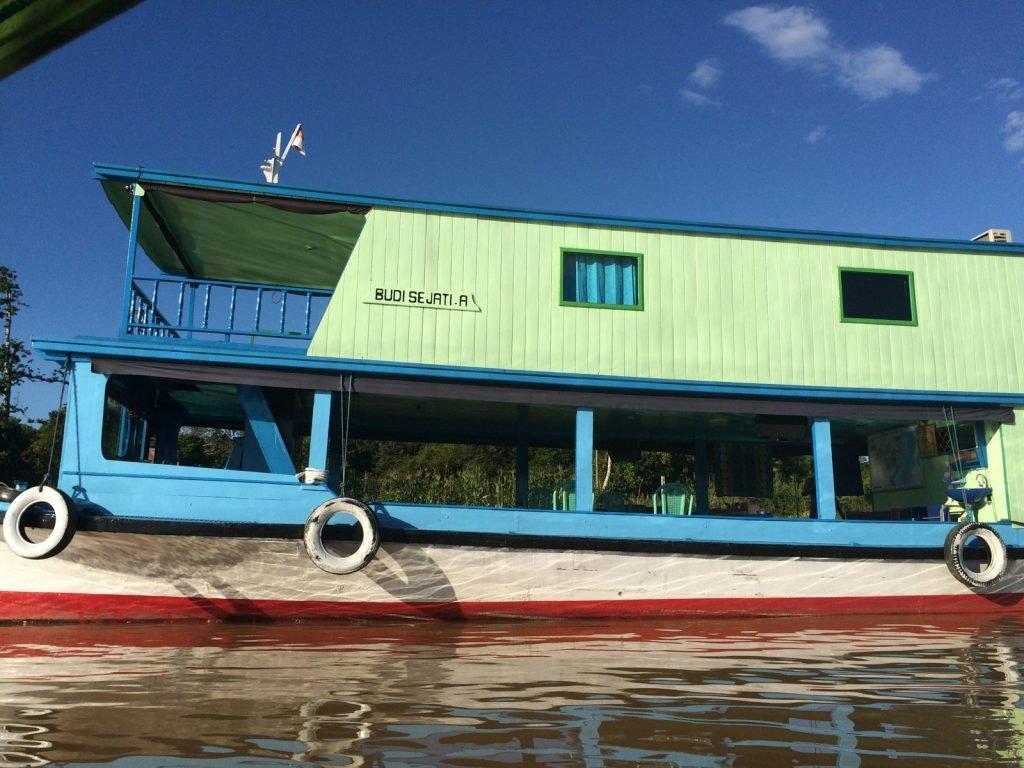 Mahakam rivier, klotok houseboat | Rama Tours