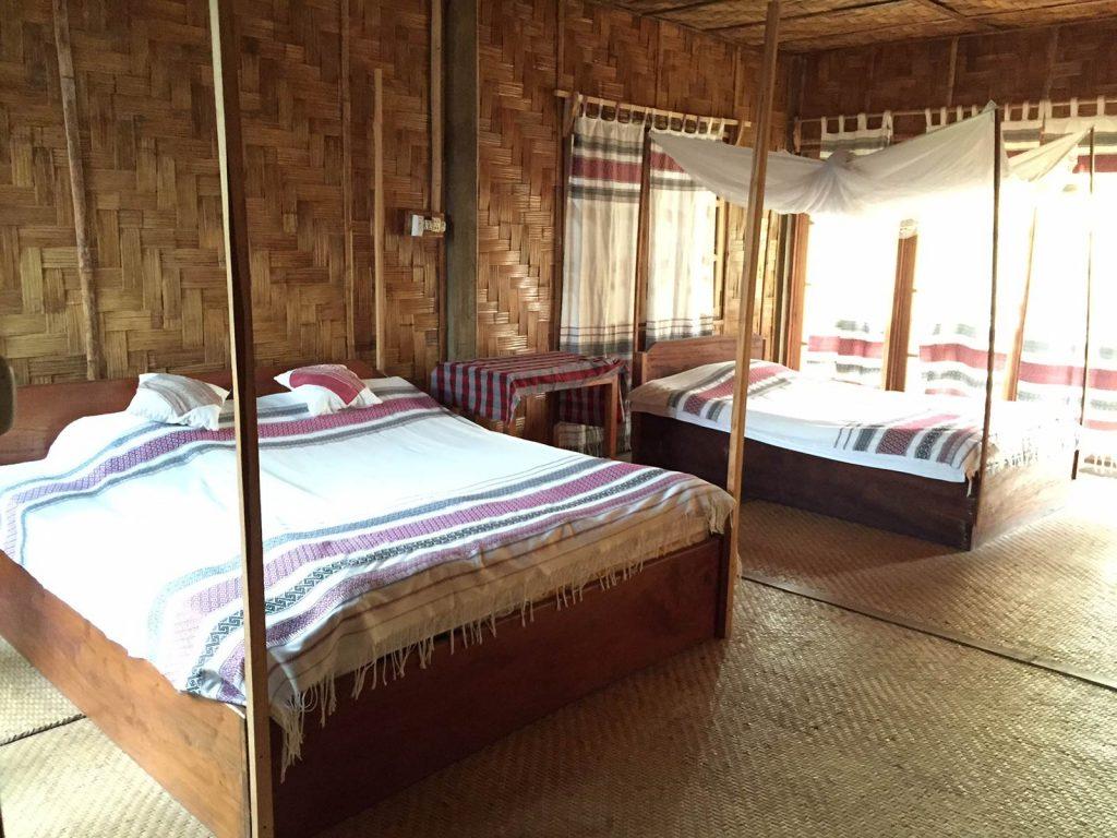 Muang Sing, Phou Iu bungalows | Rama Tours