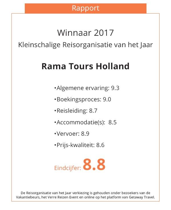 Oorkonde Rama Tours