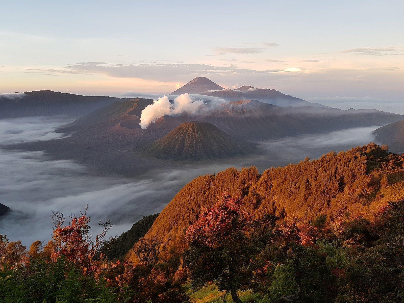 reisspecialist djordy smits favoriete foto bromo vulkaan java