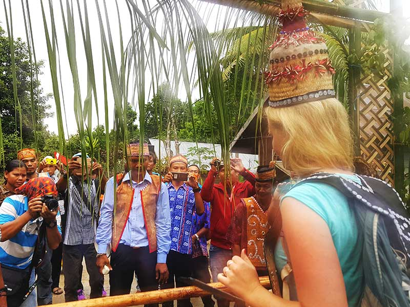 welkom bij de dayaks rondreis kalimantan rama tours holland