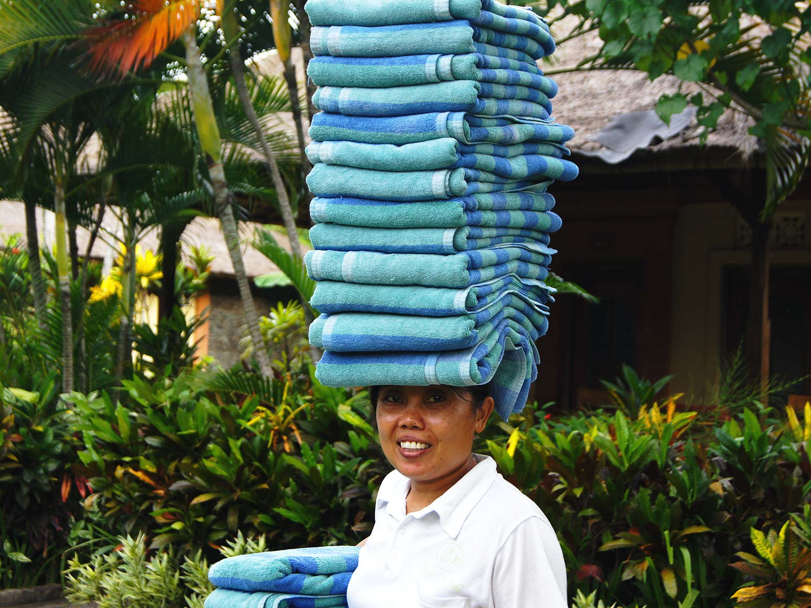 tips duurzaam toerisme handdoeken hotel in pemuteran bali