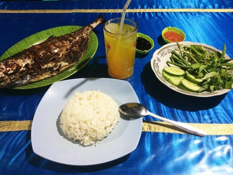 De lekkerste vis in Waingapu op het eiland Sumba