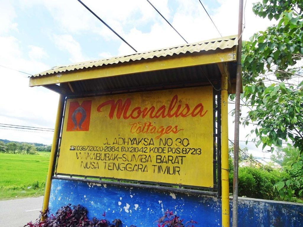 Sumba, Waikabubak, Mona Lisa cottages | Rama Tours