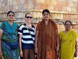 reis India gouden driehoek qutab minar | blog rama tours holland