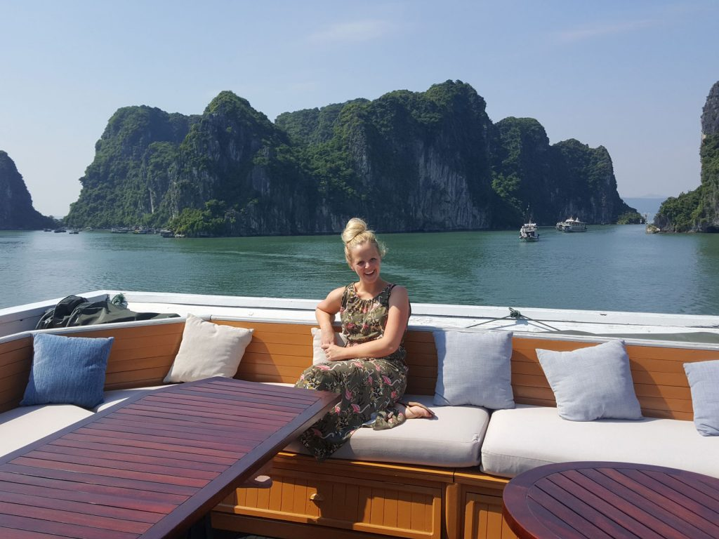 Cruisen bij Halong Bay