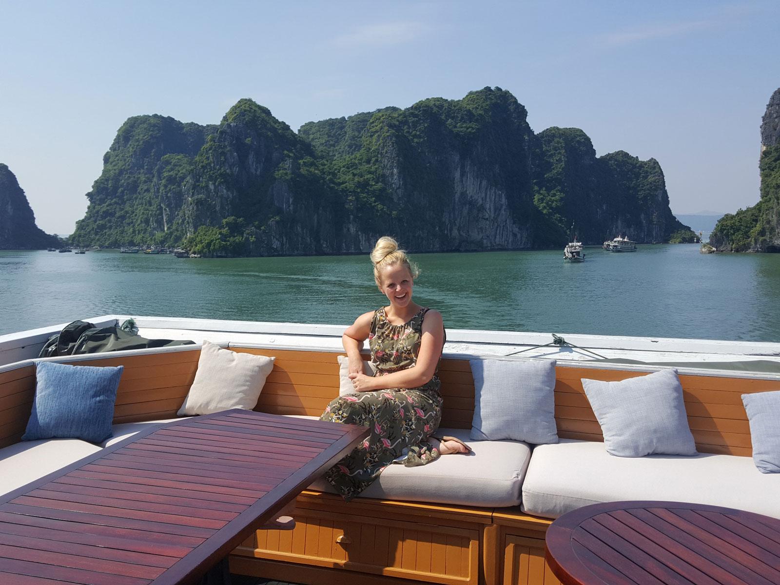 rondreis vietnam halong bay paradise luxery cruise 4