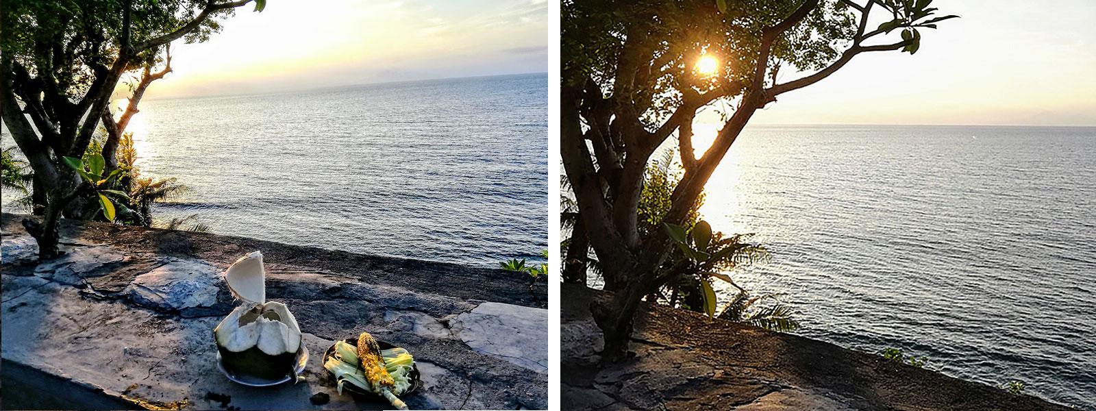uitzicht op lombok