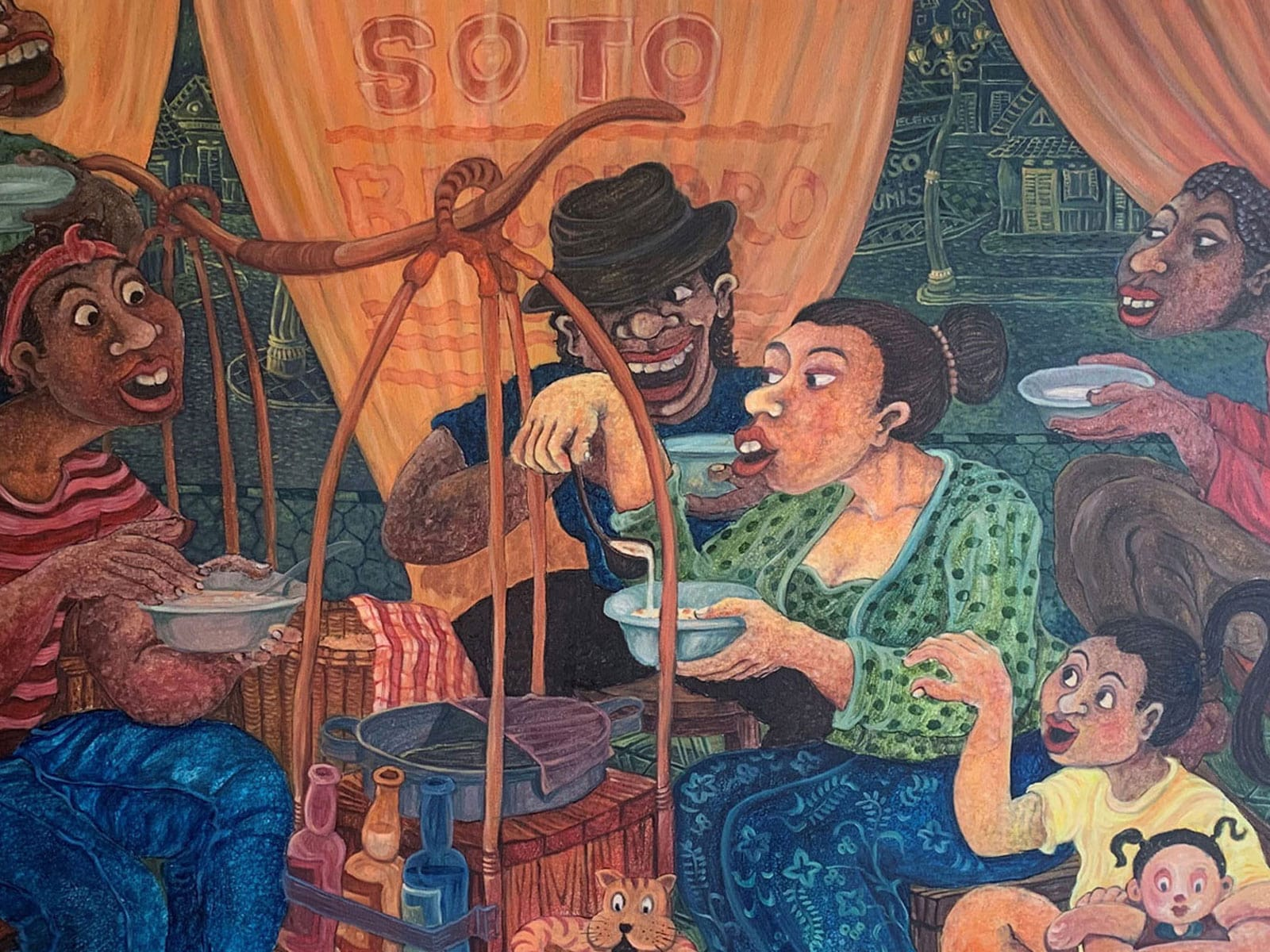 blog indonesische schilderkunst in de winkel van rama tours holland 5