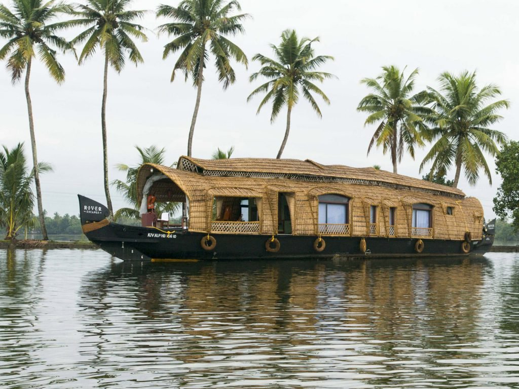 Backwaters van Kerala, houseboat | Rama Tours