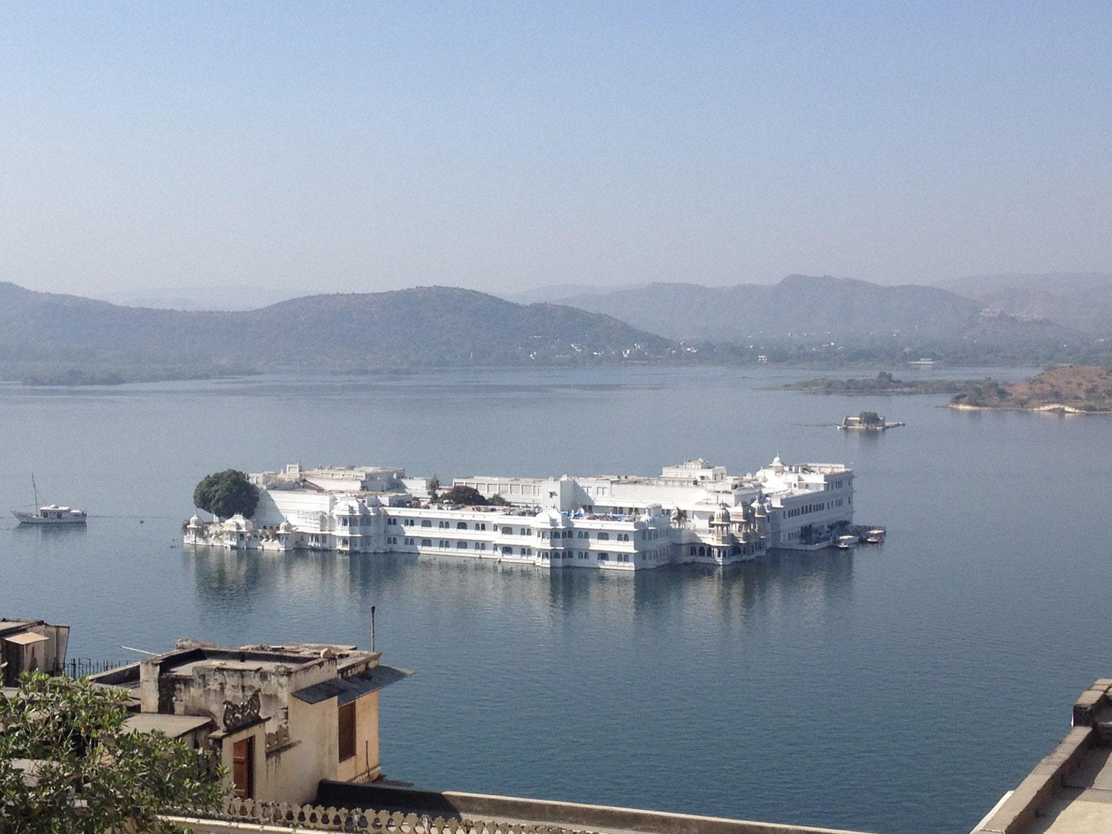 rondreis india udaipur taj lake palace hotel 1
