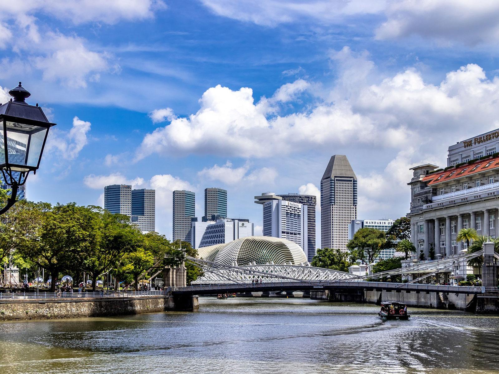 Landkaart Singapore