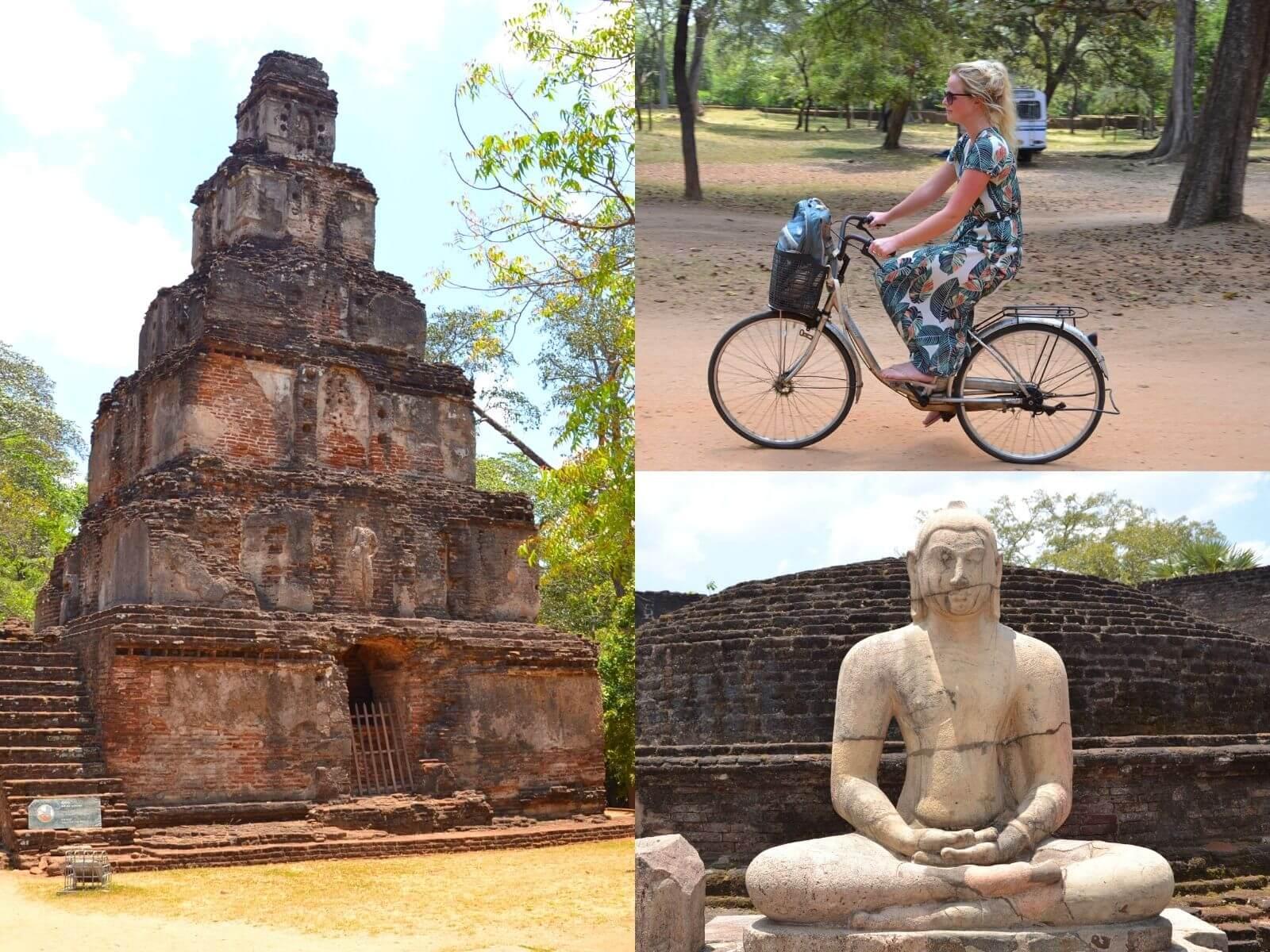 rondreis sri lanka polonnaruwa blog fietsen 8