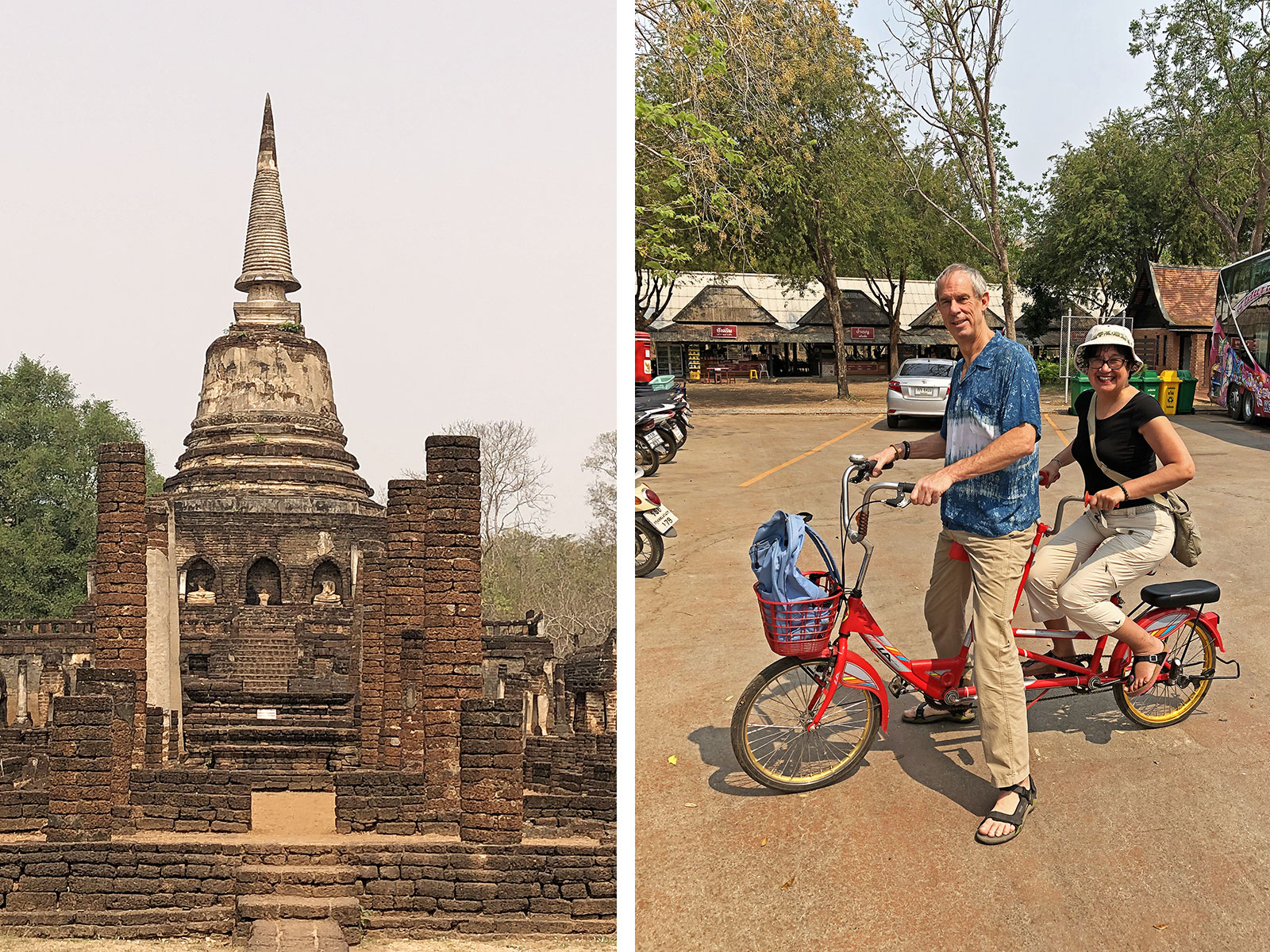 rondreis thailand sukothai blog fietsen 2